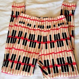 Piano leggings